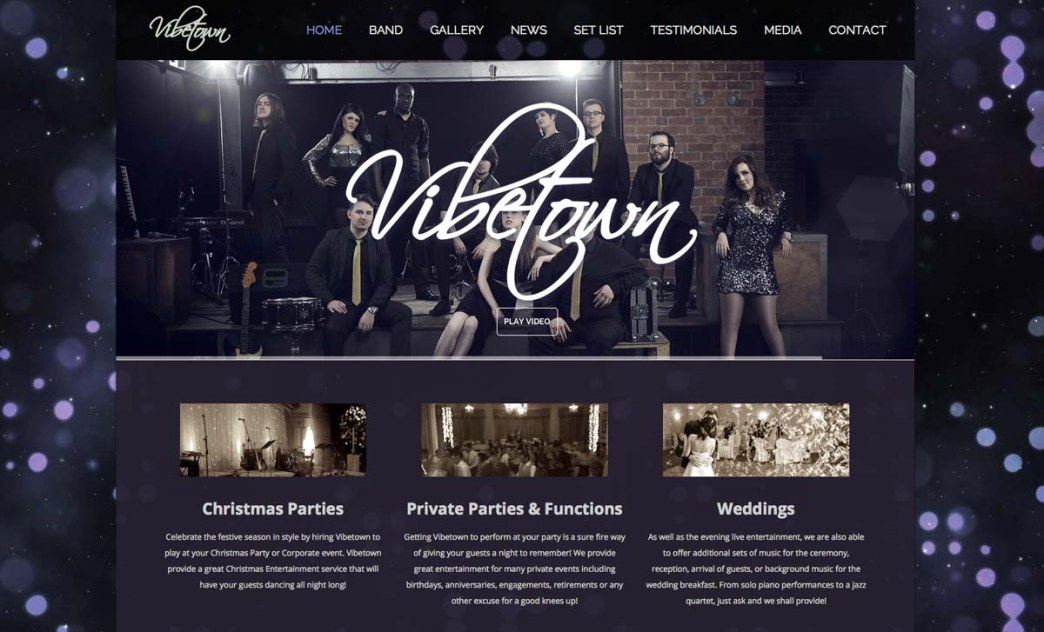 Vibetown-Function-Band-Website
