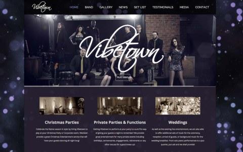 Vibetown-Function-Band-Website